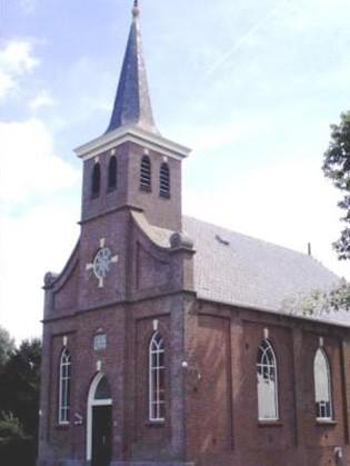 De Jacobuskerk in Delfstrahuizen