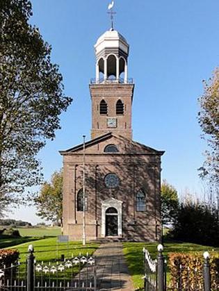 De Martinuskerk in Oosterzee