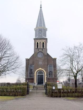 De Sint-Laurentiuskerk in Echten