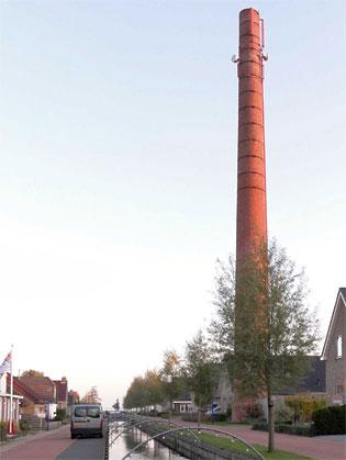 De zuivelfabriek in Oosterzee